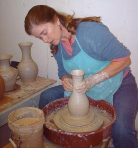 Clay Artist Elizabeth Woolrych