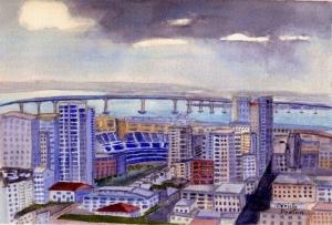 """""""San Diego Skyline"""""""