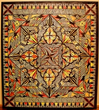 Siapo cloth by Mary Pritchard.